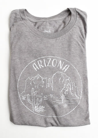Arizona T-Shirt, Unisex - Shop Back Home