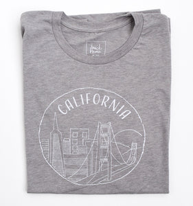 California (Northern) T-Shirt, Unisex - Shop Back Home