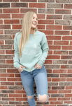 Hawaii Mint Blue Crew-neck Sweatshirt - Shop Back Home