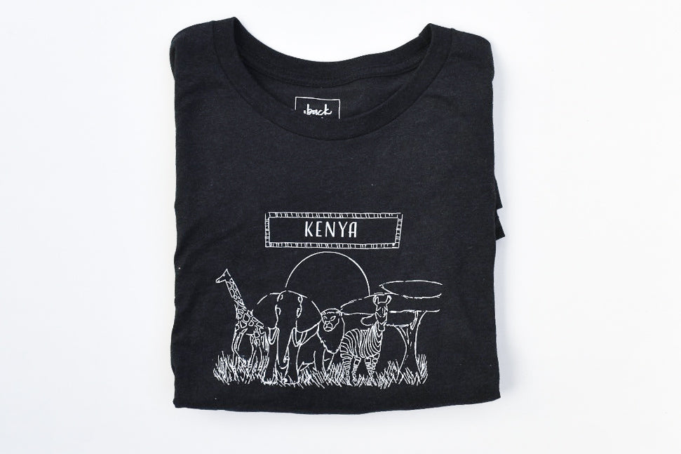 Kenya T-Shirt , Unisex - Shop Back Home