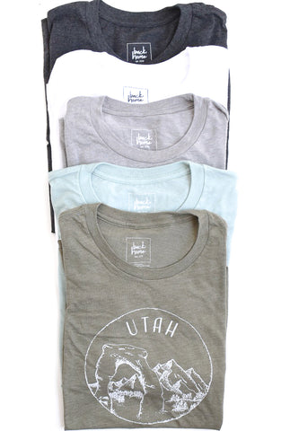 Utah T-Shirt, Unisex - Shop Back Home