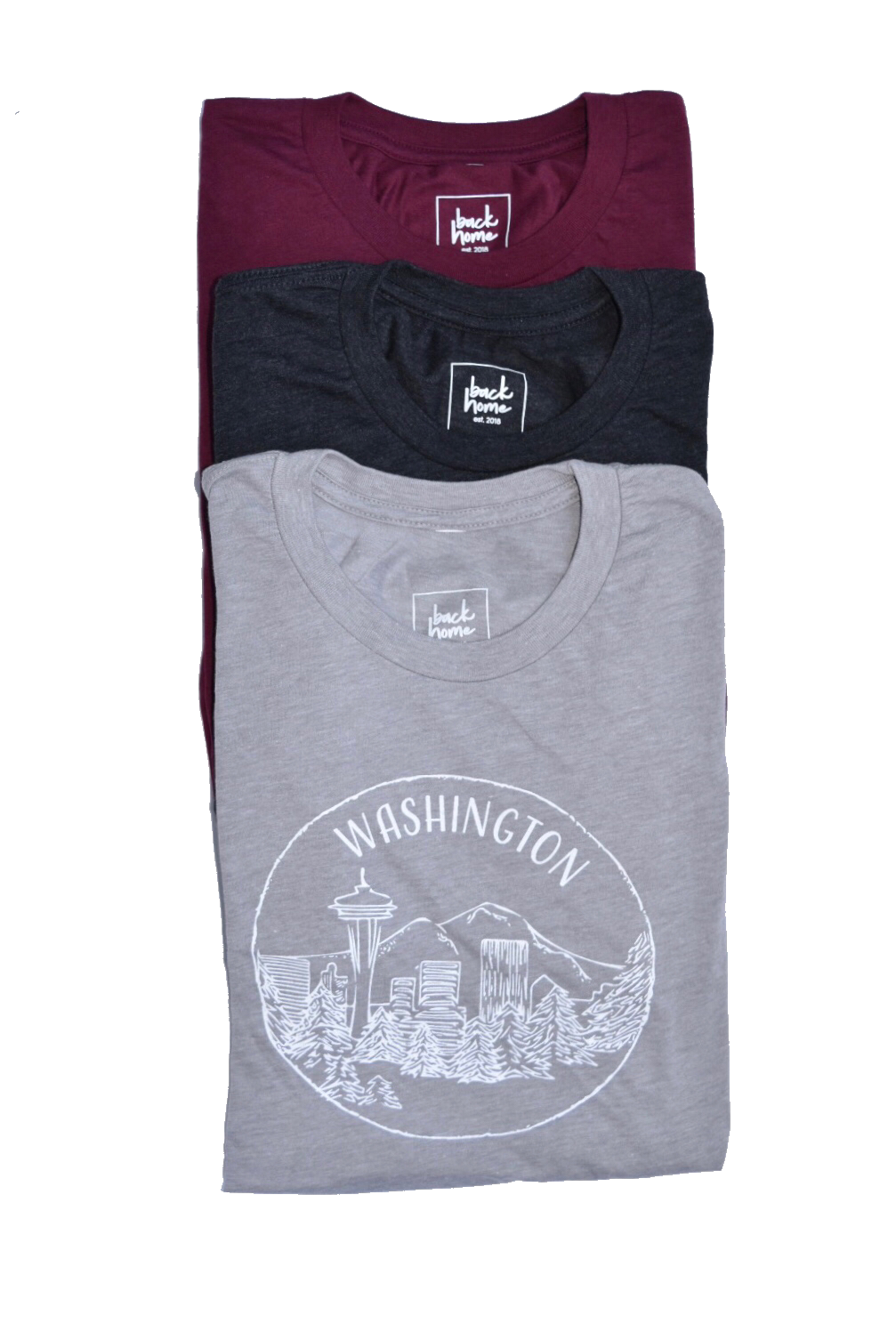 Washington State T-Shirt, Unisex - Shop Back Home