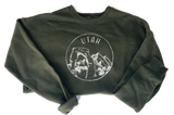 Military Green Utah Sweatshirt - Unisex - Shop Back Home