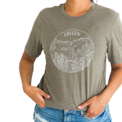 Oregon T-Shirt, Unisex - Shop Back Home