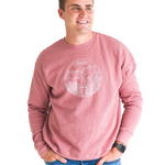 Oregon Sweatshirt - Dusty Rose - Unisex