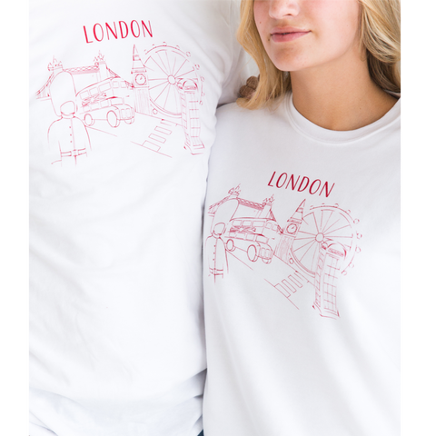 London Sweatshirt - Limited Edition - Unisex - Shop Back Home