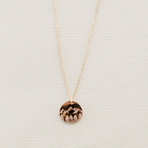 Mountain State Necklace - Shop Back Home