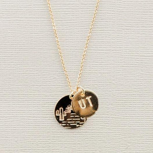 Desert Sunset State Necklace - Shop Back Home
