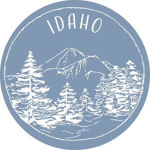 Idaho Sticker - Shop Back Home