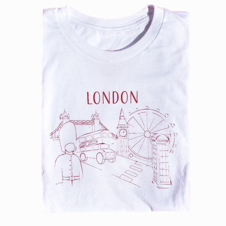 London T-Shirt, Unisex, Limited Edition - Shop Back Home