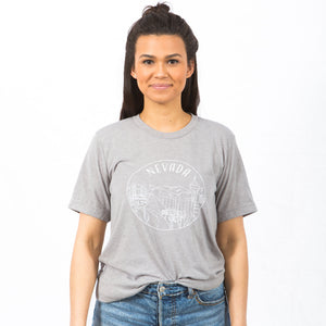 Nevada T-Shirt, Unisex - Shop Back Home