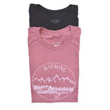 Wyoming T-shirt, Unisex - Shop Back Home