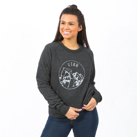 Utah Crew Neck Sweatshirt - Shop Back Home