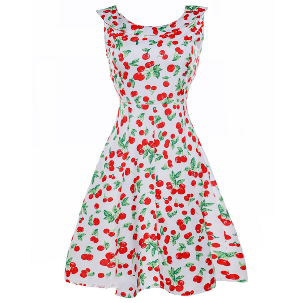 Cherry Pin-Up Tea Dress