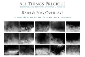 RAIN & FOG Digital Overlays