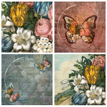 Load image into Gallery viewer, OLD MASTERS BUTTERFLY Set 4 - Digital Papers