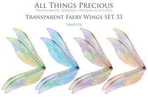 20 Png FAIRY WING Overlays Set 33