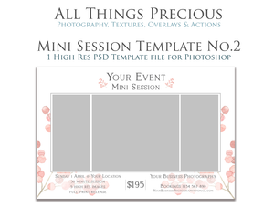 MINI SESSION - PSD Template No. 2