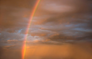 10 Fine Art RAINBOW SKY Digital Overlays SET 1