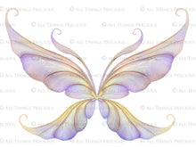 Load image into Gallery viewer, 20 Png TRANSPARENT FAIRY WING Overlays Set 35