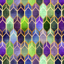 Load image into Gallery viewer, TEXTURED PATTERN - Gold, Green & Mauve - Digital Papers