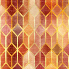 Load image into Gallery viewer, TEXTURED PATTERN Gold & Red - Digital Papers