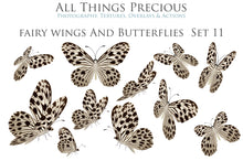 Load image into Gallery viewer, BUTTERFLIES BUNDLE No.3 Digital Overlays for Photoshop