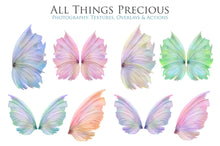 Load image into Gallery viewer, 20 Png PRETTY FAIRY WING Overlays Set 1