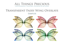 Load image into Gallery viewer, 175 FAIRY WING Overlays, SPARKLE, GLOW & FIREFLY Digital Overlays,  BUNDLE with Photoshop ACTIONS and Fine Art TEXTURES