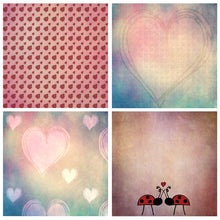 Load image into Gallery viewer, LOVE BUG Digital Papers Set 2