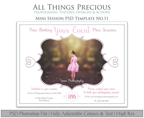 MINI SESSION - PSD Template No. 11