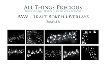 Load image into Gallery viewer, PAWTRAIT BOKEH Digital Overlays