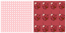 Load image into Gallery viewer, LOVE BUG Digital Papers Set 3