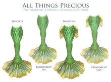Load image into Gallery viewer, MERMAID TAILS Set 1 - Digital Overlays