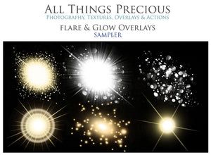 FLARE and GLOW Digital Overlays