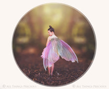 Load image into Gallery viewer, 20 Png PRETTY FAIRY WING Overlays Set 2
