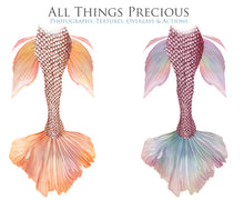 Load image into Gallery viewer, SWISH MERMAID TAILS - Digital Overlays