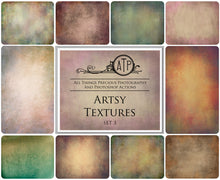 Load image into Gallery viewer, 10 Fine Art TEXTURES - ARTSY Set 3