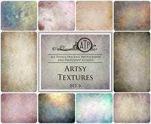 Load image into Gallery viewer, 10 Fine Art TEXTURES - ARTSY Set 6