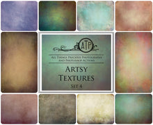 Load image into Gallery viewer, 10 Fine Art TEXTURES - ARTSY Set 4
