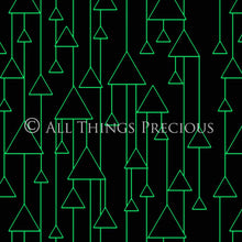 Load image into Gallery viewer, ART DECO - GREEN & BLACK Digital Papers Set 6