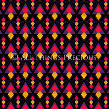 Load image into Gallery viewer, ART DECO - RED & BLACK Digital Papers Set 5