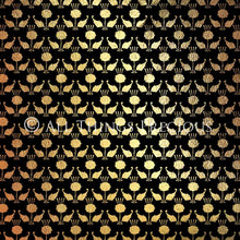 Load image into Gallery viewer, ART DECO - BLACK & GOLD Digital Papers Set 1