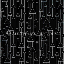 Load image into Gallery viewer, ART DECO - BLACK & SILVER Digital Papers Set 3