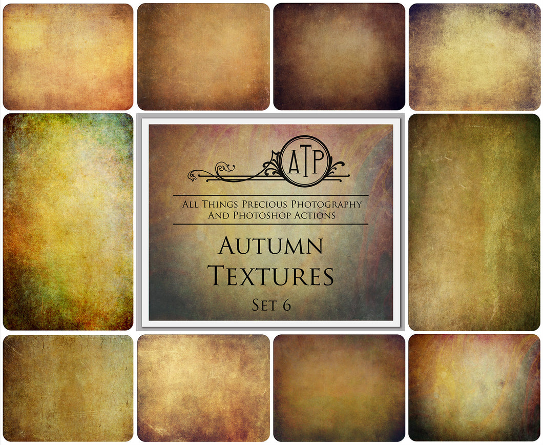 10 Fine Art AUTUMN High Resolution TEXTURES Set 6