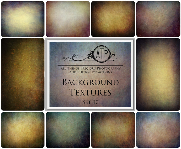 10 Fine Art TEXTURES - BACKGROUND / DIGITAL BACKDROPS Set 10