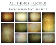 Load image into Gallery viewer, 10 Fine Art TEXTURES - BACKGROUND / DIGITAL BACKDROPS Set 8