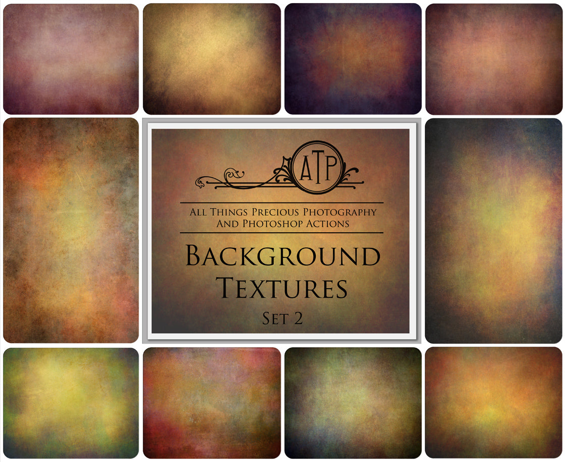 10 BACKGROUND Fine Art TEXTURES / DIGITAL BACKDROPS Set 2