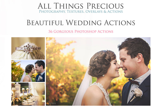 BEAUTIFUL WEDDING Photoshop Actions