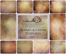 Load image into Gallery viewer, 10 Fine Art TEXTURES - Berries & Cream Set 7